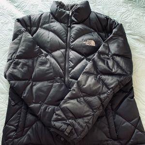 Women's North Face Down Puffer Coat